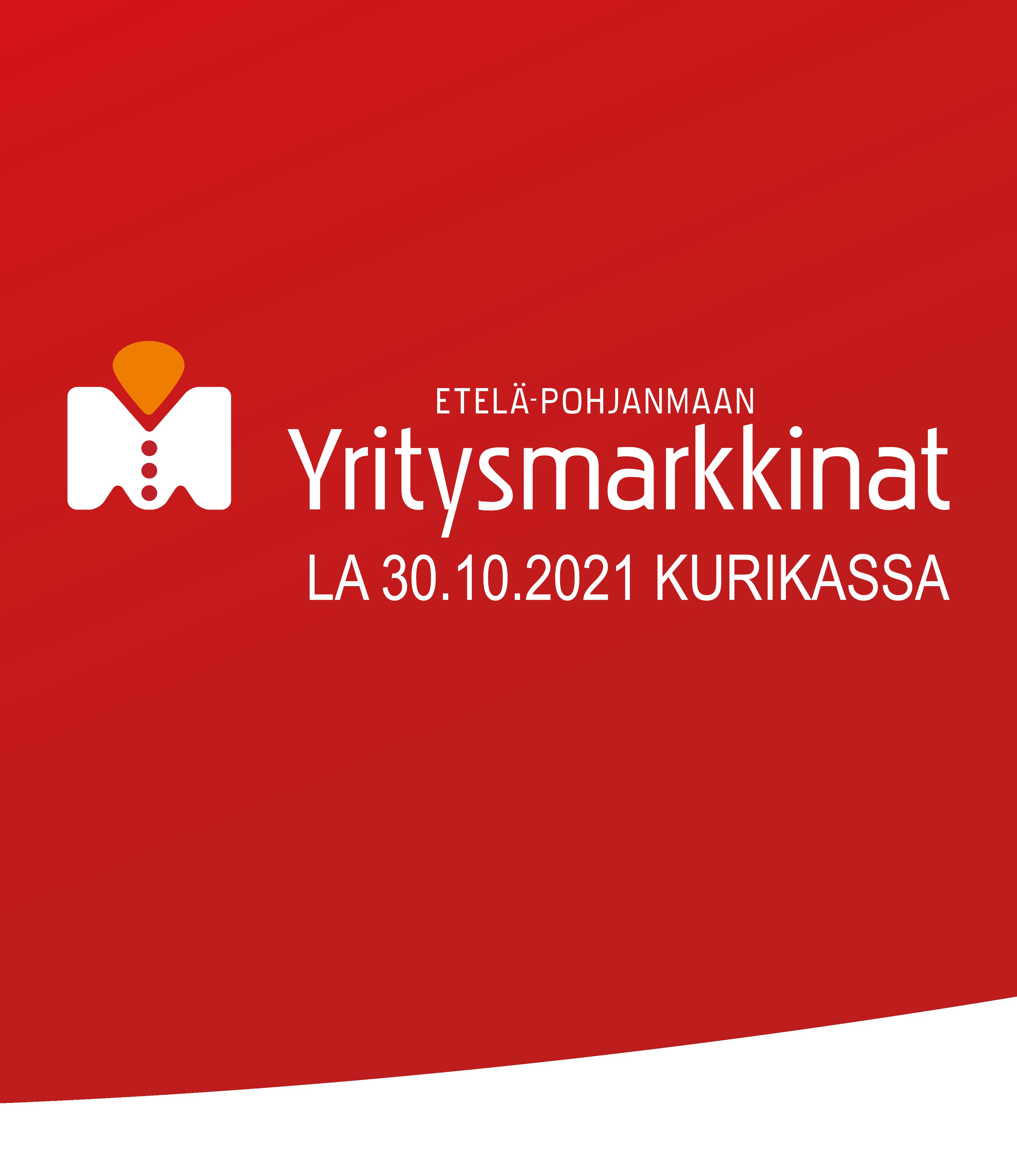 Yritysmarkkinat Kurikassa 30.10.2021